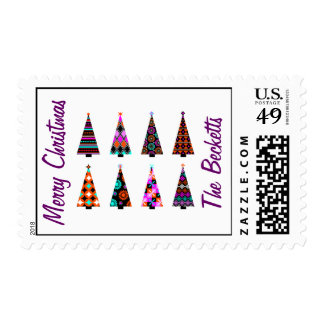 Best Personalized Christmas Tree Stamp Unique Cool