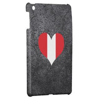 Best Peruvian Heart flag Case For The iPad Mini