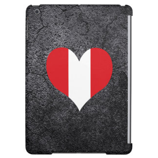 Best Peruvian Heart flag iPad Air Cases