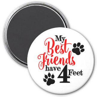 Best Pet Friend Magnet