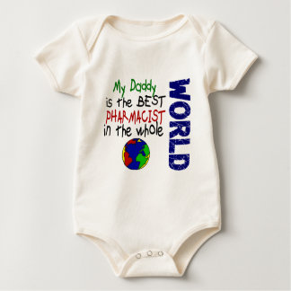 Best Pharmacist In World 2 (Daddy) Baby Bodysuit