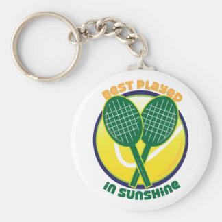 Best Played In Sunshine Keychains
