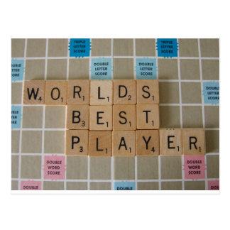 Best Player 1 Postcard