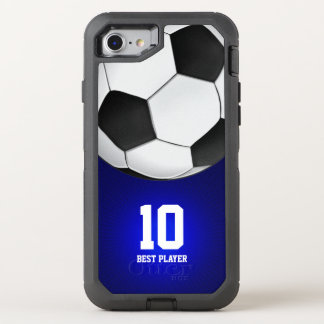 Best Player No Soccer | Football Sports OtterBox Defender iPhone 8/7 Case