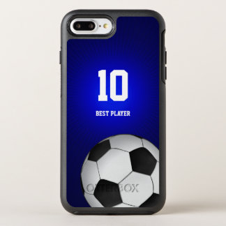 Best Player No Soccer | Football Sports OtterBox Symmetry iPhone 8 Plus/7 Plus Case