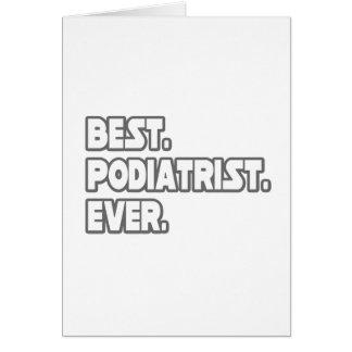 Best Podiatrist Ever Card