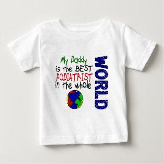 Best Podiatrist In World 2 (Daddy) Baby T-Shirt