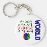 Best Podiatrist In World 2 (Daddy) Key Chains