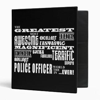 Best Police Officers Greatest Police Officer Binder