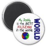 Best Policeman In World 2 (Daddy) Magnet