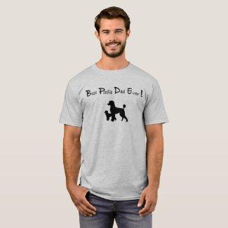 Best Poodle Dad Ever T-shirt