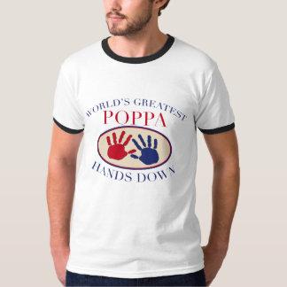 Best Poppa Hands Down T-Shirt