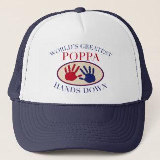 Best Poppa Hands Down Trucker Hat