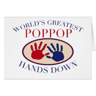Best PopPop Hands Down Card
