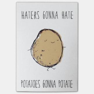 Best Post it Note Potatoes