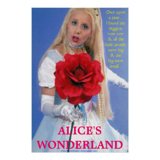 BEST POSTERS - ALICE IN WONDERLAND - A NEW STORY