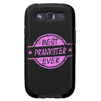 Best Prankster Ever Pink Samsung Galaxy S3 Covers