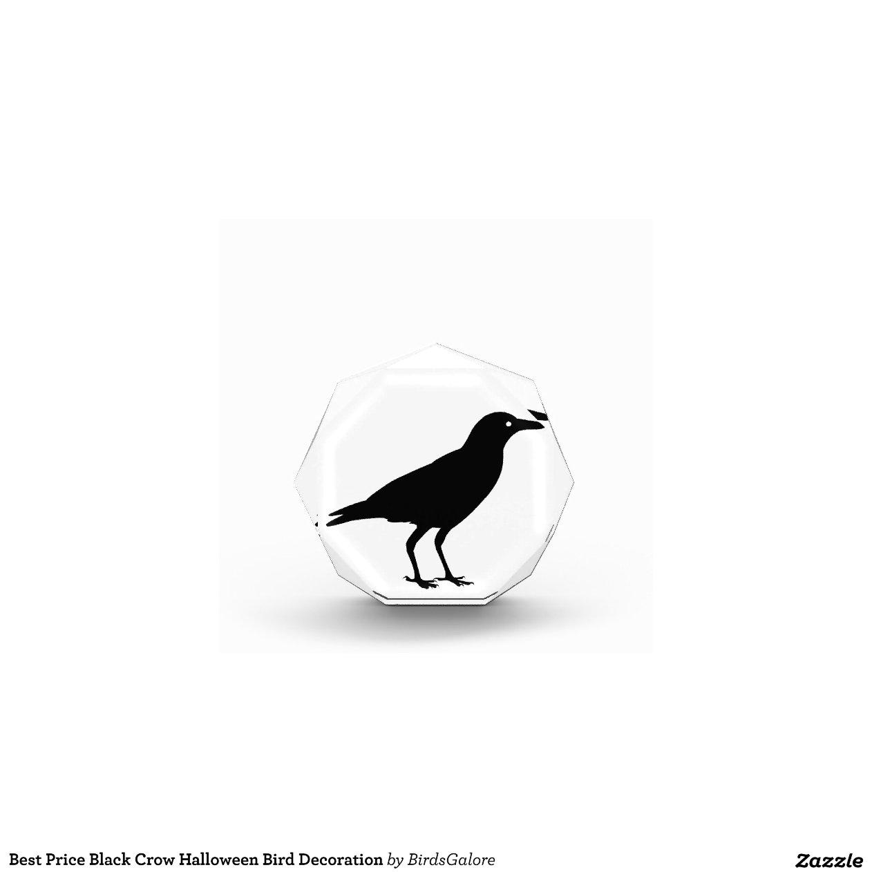 Best Price Black Crow Halloween Bird Decoration Award Zazzle