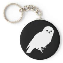 Best Price White Barn Owl Keychain