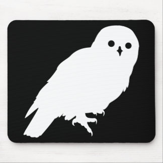 Best Price White Barn Owl Mouse Pad