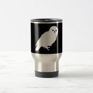 Best Price White Barn Owl Travel Mug