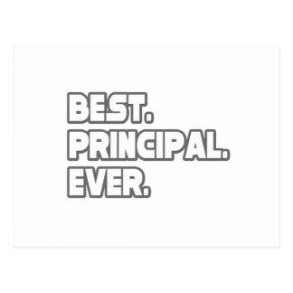 Best Principal Ever Postcard