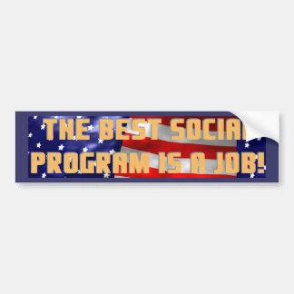 Best Program Bumper Sticker