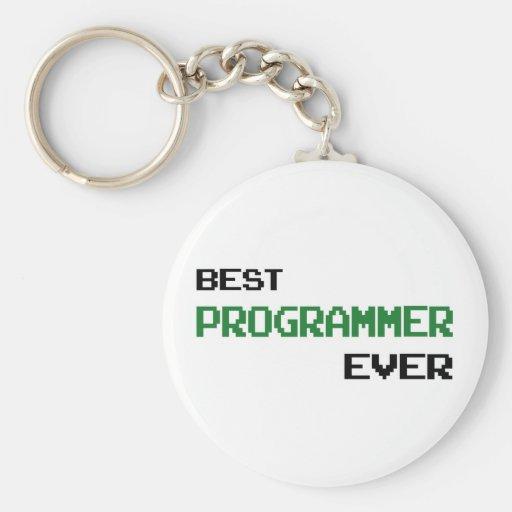 Best Programmer Ever Key Chains