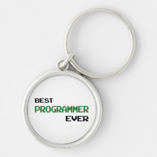 Best Programmer Ever Keychain