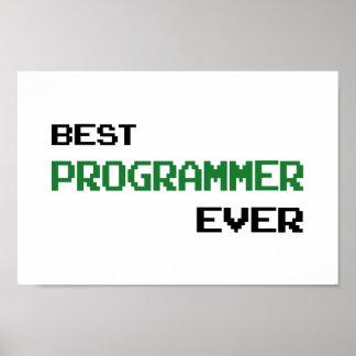 Best Programmer Ever Poster