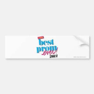 Best Prom Ever - Aqua Bumper Sticker