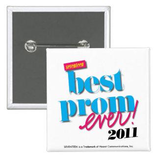 Best Prom Ever - Aqua Button