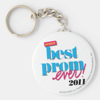 Best Prom Ever - Aqua Keychain