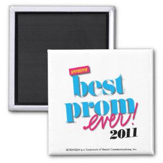 Best Prom Ever - Aqua Refrigerator Magnets