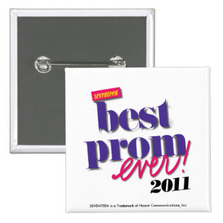Best Prom Ever - Purple Button
