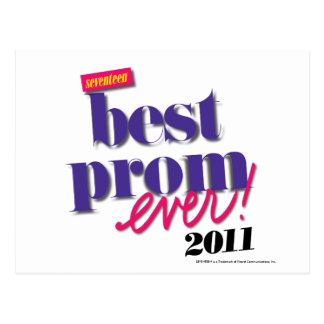 Best Prom Ever - Purple Postcard