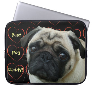 Best Pug Daddy Laptop Computer Sleeve