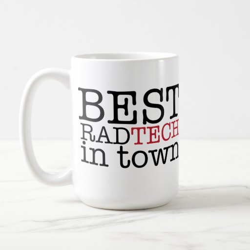 Best Rad Tech in Town Mug