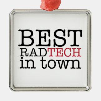 Best Rad Tech in Town Ornament