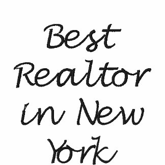 Best Realtor in New York Embroidered Shirt