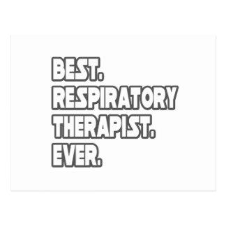 Best Respiratory Therapist Ever Postcard