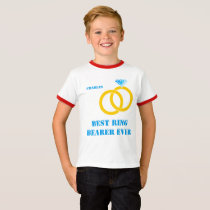 Best Ring Bearer Ever customizable T-Shirt