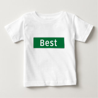 Best, Road Marker, Texas, USA Baby T-Shirt