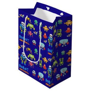 Birthday Robot Gift Bags Zazzle