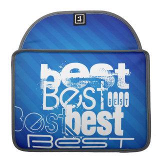 Best; Royal Blue Stripes MacBook Pro Sleeves