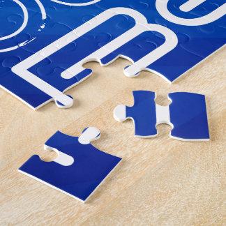 Best; Royal Blue Stripes Puzzle
