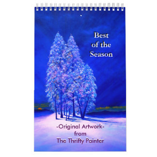 Best Season Fine Art Original Paintings Calendar