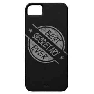 Best Secretary Ever Gray iPhone SE/5/5s Case