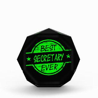 Best Secretary Ever Green Awards