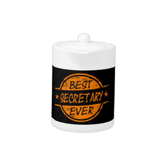Best Secretary Ever Orange